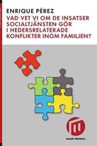 Vad vet vi om de insatser socialtjänsten gör i hedersrelaterade konflikter inom familjen?