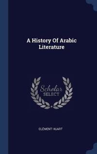 A HISTORY OF ARABIC LITERATURE