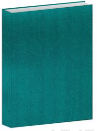 Bujo-muistikirja turkoosi kangas