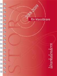 Stora lärarkalendern för klasslärare 2018/2019