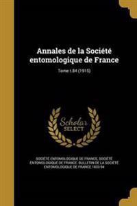 FRE-ANNALES DE LA SOCIETE ENTO