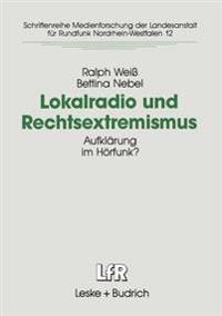 Lokalradio Und Rechtsextremismus