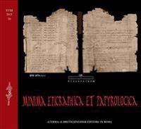 Minima Epigraphica Et Papyrologica. Anno XVIII. 2015 Fasc. 20