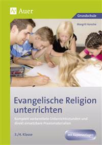 Evangelische Religion unterrichten - Klasse 3+4