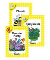 Jolly phonics readers, complete set level 2 - in precursive letters (be)