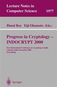 Progress in Cryptology - INDOCRYPT 2000