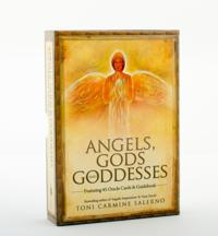 Angels, Gods & Goddesses: Oracle Cards & Guidebook [With Guidebook]