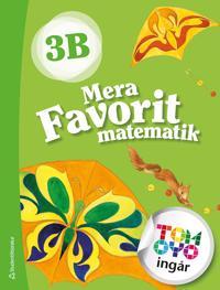 Mera Favorit matematik 3B Elevpaket - Digitalt + Tryckt