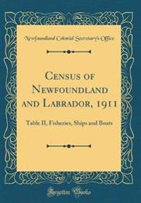 Census of Newfoundland and Labrador, 1911