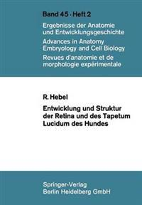 Entwicklung Und Struktur Der Retina Und Des Tapetum Lucidum Des Hundes