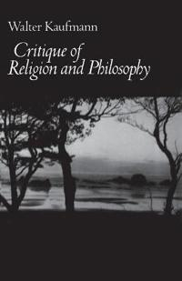 Critique of Religion and Philosophy