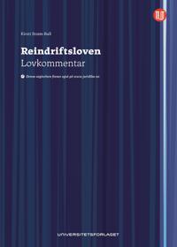 Reindriftsloven - Kirsti Strøm Bull   Inprintwriters.org