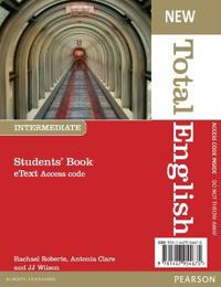 New Total English Intermediate eText Students' Book Access Card