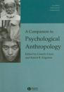 A Companion to Psychological Anthropology: Modernity and Psychocultural Change