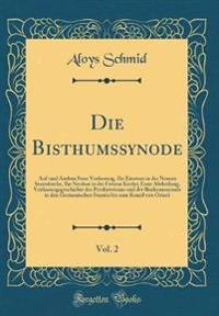 Die Bisthumssynode, Vol. 2
