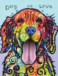 Dean Russo Dog Is Love Journal: Lined Journal