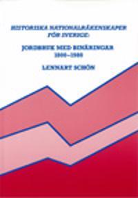 Historiska nationalräkenskaper för Sverige: Jordbruk med binäringar 1800-1980