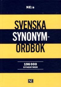 NE:s svenska synonymordbok