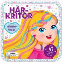 Hårkritor : inspirerande frisyrguide och hårkritor