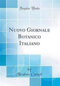 Nuovo Giornale Botanico Italiano (Classic Reprint)