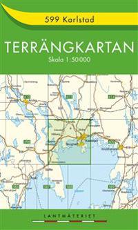 599 Karlstad Terrängkartan : 1:50000