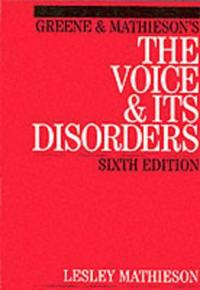 Green and Mathieson's the Voice and Its Disorders
