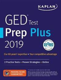 Get Your Ged Online >> Ged Test Prep Plus 2019 Caren Van Slyke Nidottu