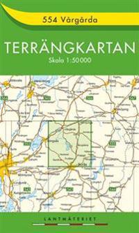 554 Vårgårda Terrängkartan : 1:50000