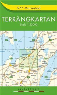 577 Mariestad Terrängkartan : 1:50000