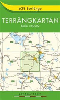 638 Borlänge Terrängkartan : 1:50000