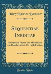 Sequentiae Ineditae