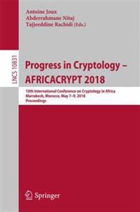 Progress in Cryptology – Africacrypt 2018