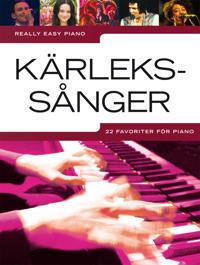 Kärlekssånger : 22 favoriter för piano