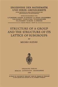 Structure of a Group and the Structure of its Lattice of Subgroups