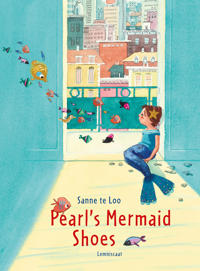 Pearls mermaid shoes