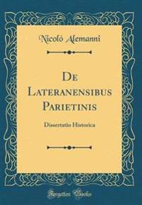 De Lateranensibus Parietinis