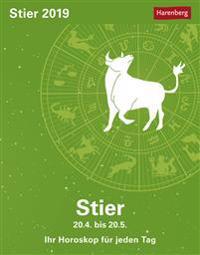 Sternzeichenkalender Stier 2019