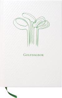 Golfdagbok Inbunden Golfbollsstruktur A5