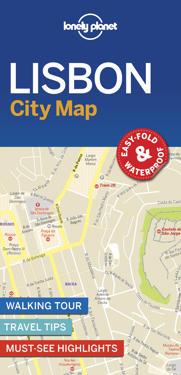 Lonely Planet Lisbon City Map