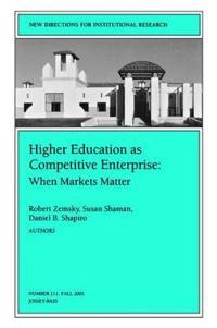 Higher Education As Competetive Enterprise