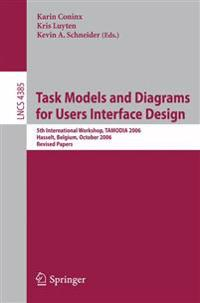 Task Models and Diagrams for Users Interface Design