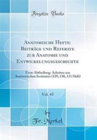 Anatomische Hefte