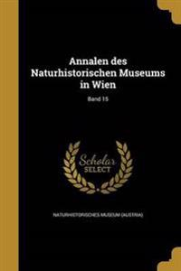 GER-ANNALEN DES NATURHISTORISC