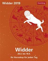 Sternzeichenkalender Widder 2019
