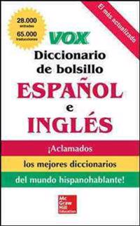 Vox diccionario de bolsillo espanol y ingles / Vox Pocket Dictionary English and Spanish