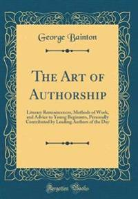 The Art of Authorship