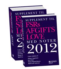 Supplement til FSRs skatte- og afgiftslove 2012