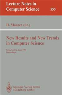 New Results and New Trends in Computer Science