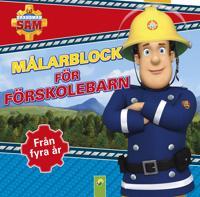 Brandman Sam. Målarblock för förskolebarn