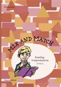 Mix and Match Reading Comprehension Level 3, inkl facit